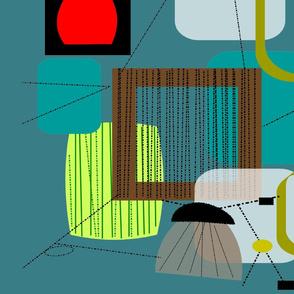 Mid-Century Modern Abstract IV