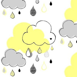Rain cloud citrus- large