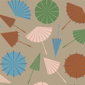 Opening Umbrellas