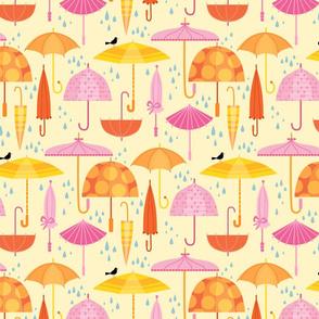 Pretty Parasols For Precipitation