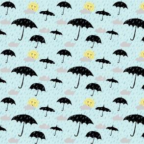 A sun shower for Spoonflower!