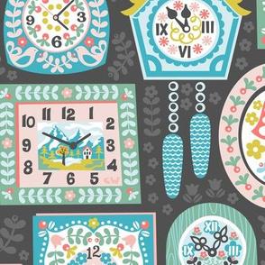 Alpine Clock Collection