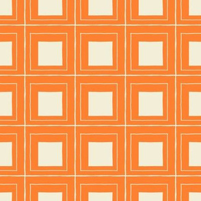 squares - orange
