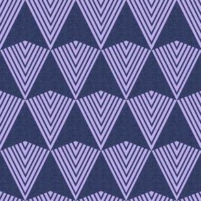 Arrows >>> Navy + Lavender