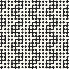 puzzle dot stripe