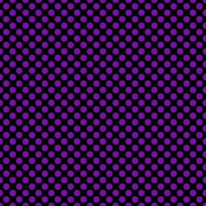 Purple Dots on Black