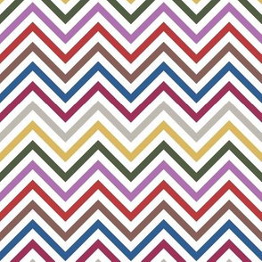 Thin Chevrons - Pantone 2014 Colors