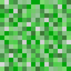 Life-like Lighter Green Pixel Blocks - 3""