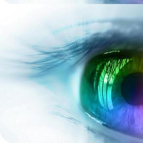 Rainbow Eye Panel