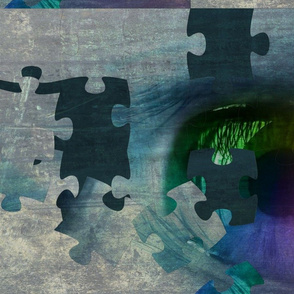 Rainbow Eye Puzzled