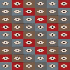 Modern Eye Clock