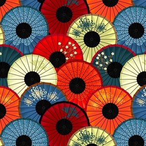 Chinese umbrellas (small scale)