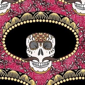 Calavera in a Sombrero