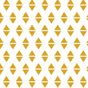golden yellow triangle