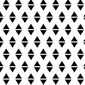 black white triangle