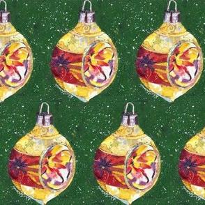 Vintage Ornament - Gold