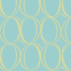 Egg Circles aqua