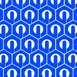 Blue Mino Hexagons