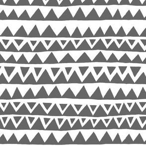 Slopes and Peaks Gray/White