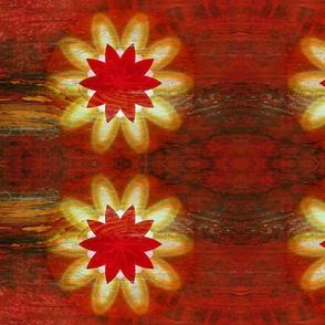 Flower Starburst Grain