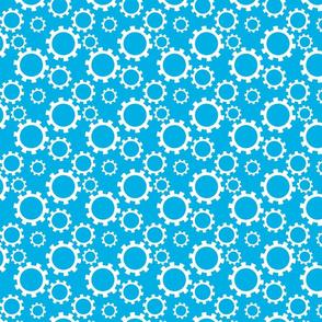 Gears Blue