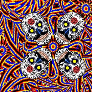sugar skulls east indian
