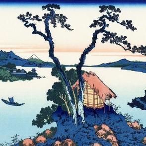 Lake Suwa in Shinano Province