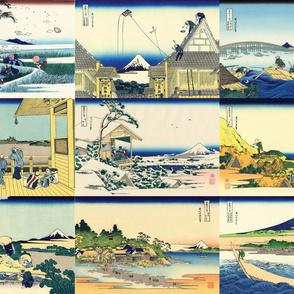 36 Views of Mt Fuji (10-18)