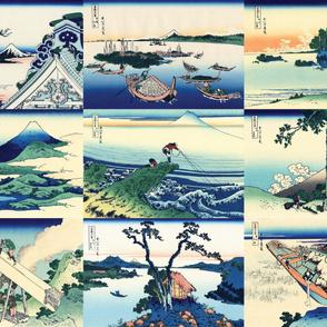 36 Views of Mt Fuji (28-36)