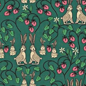 Rabbits and Strawberries