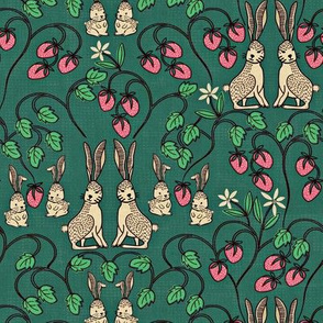 Rabbits and Strawberries