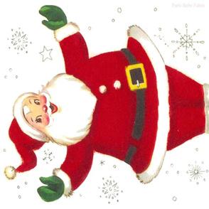 Jolly Santa by the Fat Quarter Christmas