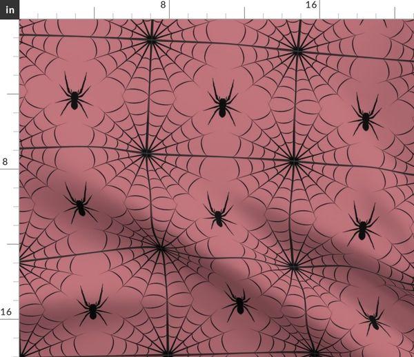 Black Widow Web Spoonflower