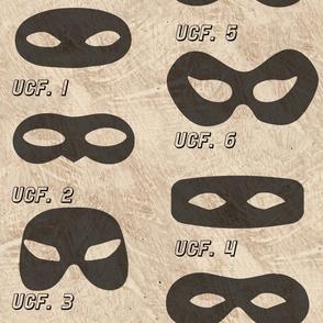 Superhero Eye Masks - Hero Costume