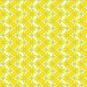 Woven blossoms lemon