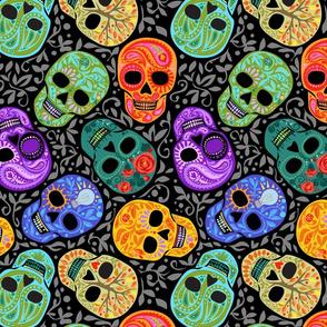 Calaveras_celebración del Color2_Lg