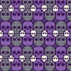 Damask Skulls
