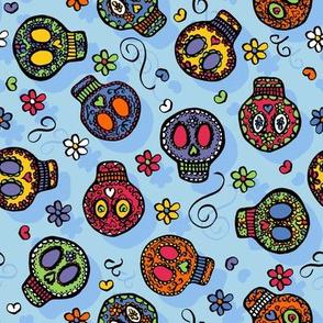 Sugar Skulls - by Kara Peters