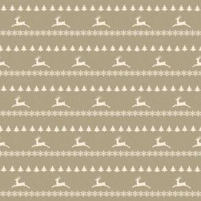 Raindeer Christmas Snowfall 360-cream puff