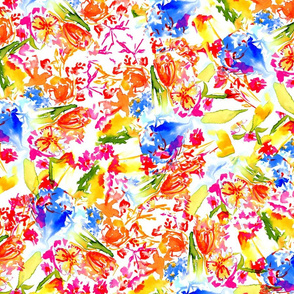 Abstract Botanical (bright)
