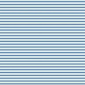 Tiny Combo Stripes Lt Blue, Dk Blue, White
