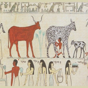 Ancient Egyptian Animal Painting