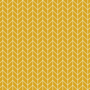 chevron golden yellow