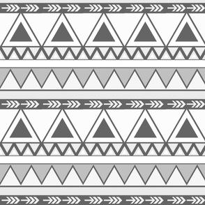Black & White Aztec