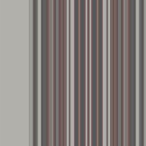 Grey Zones Stripe in Brown large © 2009 GIngezel Inc.