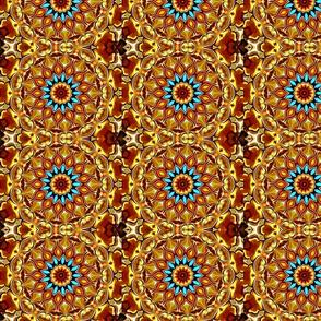Golden Sun Mandala