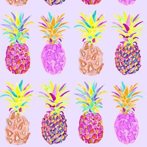 pineapple in lavender