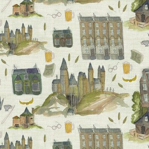 Mythical buildings from Harry's world