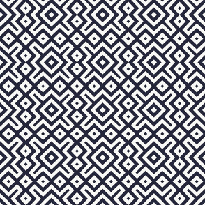 black white diamond pattern