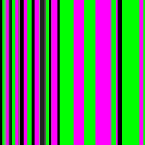 green black pink vertical stripes tell3people